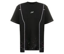 cosmo paint-splatter T-shirt