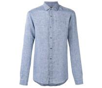 Hemd aus Leinen - men - Leinen/Flachs - M