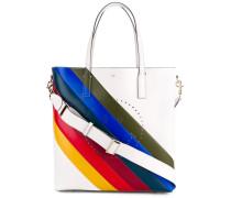 'Ebury' Handtasche mit Regenbogen-Einsatz