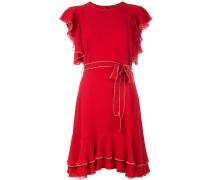 Gerüschtes Seidenkleid - women - Seide - 42