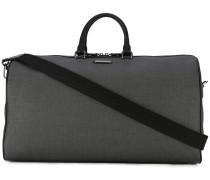 - Reisetasche mit Fischgrätenmuster - men - Leder