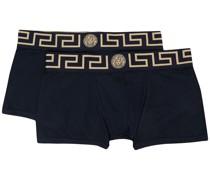 2er-Set Shorts mit Greca-Bund