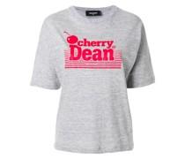"""T-Shirt mit """"Cherry Dean""""-Print"""