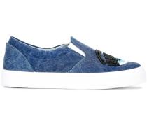 Slip-On-Sneakers mit Prägung