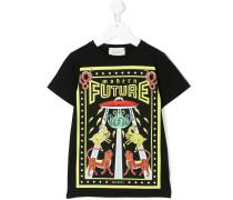 """T-Shirt mit """"Modern Future""""-Print"""
