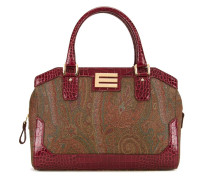 Mittelgroße Handtasche mit doppeltem Henkel
