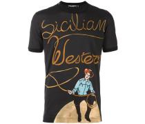 "T-Shirt mit ""Sicilian Western""-Print"