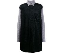 Langes Hemd im Layering-Look