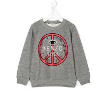 Peace logo sweatshirt