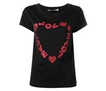 T-Shirt mit Herzmotiv