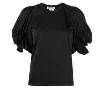ruffled sleeves T-shirt