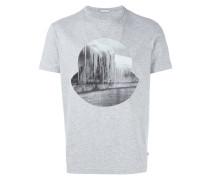 T-Shirt mit Eiszapfen-Print