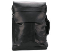 structured fold-over backpack