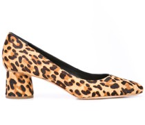 'Ina' Loafer mit Leopardenmuster