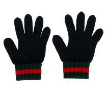 Handschuhe mit Webstreifen