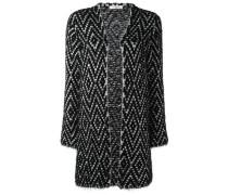 knitted longline cardigan - women