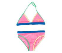 Bikini in Colour-Block-Optik