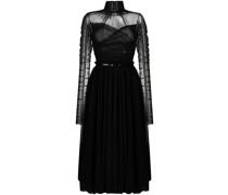 ruched design dress