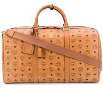 Reisetasche mit Monogramm-Print