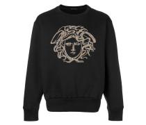 studded Medusa sweatshirt