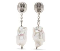 Hängeohrringe mit Perlen