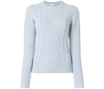 arran knit jumper