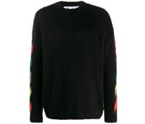Pullover mit Pfeile-Print