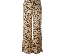 Kate Moss for leopard print trousers