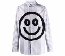 Hemd mit Smiley-Rüschenapplikation