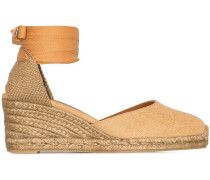 'Carina' Wedge-Espadrilles, 60mm