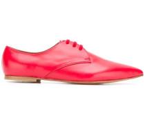 Derby-Schuhe mit spitzer Kappe