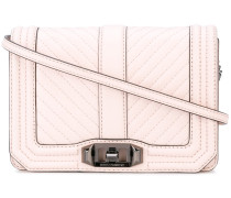 quilted crossbody bag - women - Leder