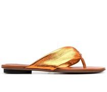 Flip-Flops im Metallic-Look