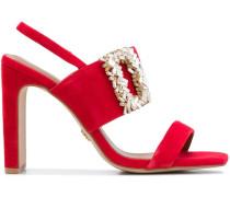 Sandalen mit Schnalle, 120mm