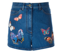 'Camubutterfly' Jeansshorts