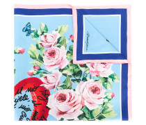 floral print foulard