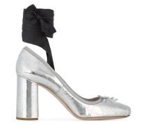 'Ballerinas' Pumps mit Blockabsatz
