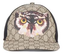 Owl print GG Supreme baseball hat