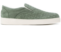 woven detail skate shoes