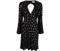 Kleid mit Stern-Print