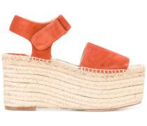 - Flatform-Sandalen mit Espadrille-Sohle - women