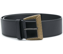 Intrecciato buckle belt