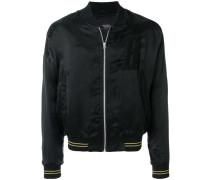 matte bomber jacket