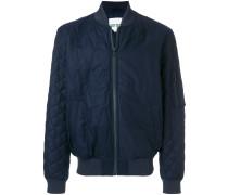 slim-fit bomber jacket