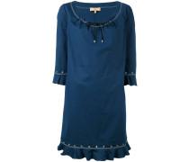 Kleid mit Ösen - women - Baumwolle/Elastan - XL