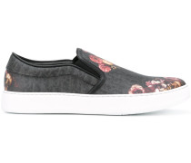 Slip-On-Sneakers mit Blumen-Print - men