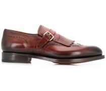 Monk-Schuhe mit Fransen