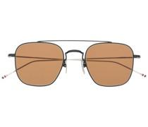 Eckige Pilotenbrille