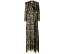 Langer Tweed-Mantel