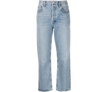 Halbhohe Ripley Straight-Leg-Jeans
